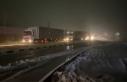 Balkanlar üzerinden gelen kar Edirne'den giriş...