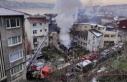 Beyoğlu'nda 3 katlı metruk binada çıkan yangın...