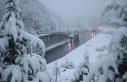 Bolu Dağı'nda kar yağışı ve sis etkili...