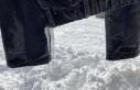 Eksi 32 derecede çamaşırlar dondu, evler dev buz...