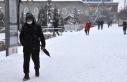 Erzurum, Iğdır ve Ağrı'da kar yağışı...