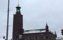 """İsveç'te Nobel ödülü ziyafeti verilen """"mavi..."""