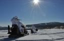 Komandolardan kar motoru ile 'muharebe düzeni'...