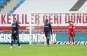 Trabzonspor iç sahada yara aldı