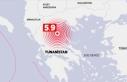 Yunanistan'ın Larissa kentinde 5,9 büyüklüğünde...