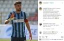 Adana Demirspor'un golcüsü Hasan Kılıç takımdan...