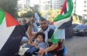 Lübnan'da Filistin'e destek protestosu...