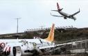 Yolcu uçağının pistten çıkmasına ilişkin kaza...