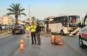Antalya'da tur midibüsünün devrilmesi sonucu...