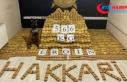 Bakan Soylu Yüksekova'da 566 kilogram eroin...