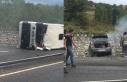 Bartın'da otomobil ile yolcu otobüsü çarpıştı!...