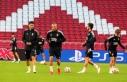 Beşiktaş, Ajax maçı öncesi son antrenmanını...