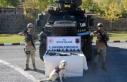 Bitlis'te teröristlere ait patlayıcılar ile...