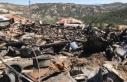 Çamlıdere'de çıkan yangında 8 ev, 7 samanlık...