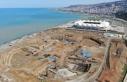 Deniz dolgusuna inşa edilecek Trabzon Şehir Hastanesi...