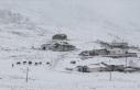 Karadeniz'de 5 ilin yüksek kesimlerinde kar...