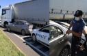 Radara giren sürücü dur ihtarına uymadı, polis...