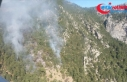 Antalya'da çıkan orman yangınına müdahale...