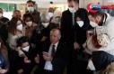 Cumhurbaşkanı Erdoğan Üsküdar'da bir kafede...