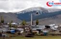 Kars'ta etkili olan kar yüksek kesimleri beyaza...