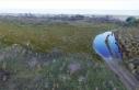 Kızılırmak Deltası'nda yanan alanlar 1 yılda...