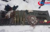Terör örgütüne yönelik operasyonlarda tanksavar roket ele geçirildi