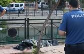 Vatandaşlar çuval sandı, sudan yaşlı kadının cesedi çıktı