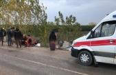 Tarım işçilerini taşıyan midibüs devrildi: 11 yaralı