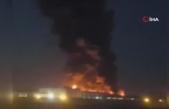 Tahran'da gıda fabrikasında korkutan yangın