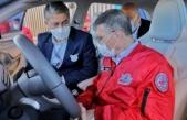 Nobel ödüllü Türk bilim insanı Sancar, TOGG'un direksiyonuna geçti