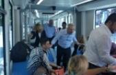 MHP Antalya Adayları Tramvay'da seçmenleri dinledi