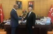 MHP Lideri Bahçeli Ülkü Ocakları Genel Başkanı Olcay Kılavuz'un Milletvekilliğini tebrik etti
