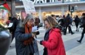 İsveç'te 'İsrail mallarını alma boykot et' eylemi
