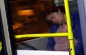 Metrobüs ve otobüsler genç kadının 'sığınma yeri' oldu