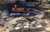 """Milli Savunma Bakanlığı: """"PKK'lı teröristlere ait çok sayıda silah ve mühimmat ele geçirildi"""""""