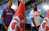 Trabzonspor'da Vitor Hugo ve Djaniny için imza töreni düzenlendi