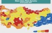 Bakan Koca, İllere Göre Risk Durumu haritasını paylaştı
