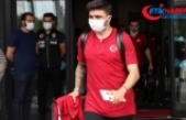 A Milli Futbol Takımı yurda döndü