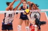 A Milli Kadın Voleybol Takımı, İtalya'ya yenildi