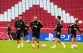 Beşiktaş, Ajax maçı öncesi son antrenmanını yaptı