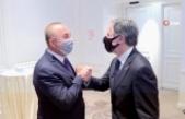 Dışişleri Bakanı Çavuşoğlu, ABD Dışişleri Bakanı Blinken ile bir araya geldi