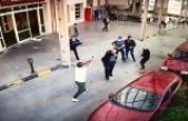 Hastane önündeki silahlı kavga kameralara yansıdı