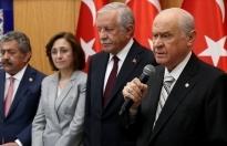 MHP Lideri Bahçeli: Cumhurbaşkanlığı Hükümet Sistemini karşılıksız destekliyoruz