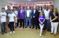 Silivri'de İP'den istifa edip MHP'ye katıldılar