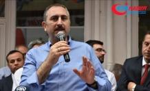 Adalet Bakanı Gül: Kandil'e giden Temel Paşa'nın apoletlerini sök bakalım