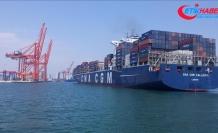 'Mersin Limanı konteyner işlem hacmiyle ilk sıraya yükseldi'