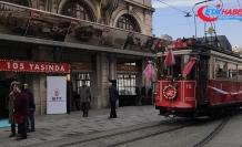 Nostaljik tramvay 105 yaşında