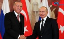 Rusya Devlet Başkanı Putin Ankara'da