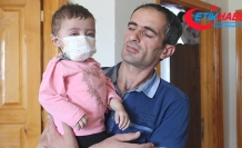 İlk nakli başarısız olan Asel bebek, tedavisine devam etmek için yardım bekliyor