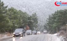 İstanbul'un yüksek kesimlerinde kar yağışı başladı